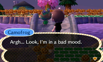 Camofrog: Argh... Look, I'm in a bad mood.
