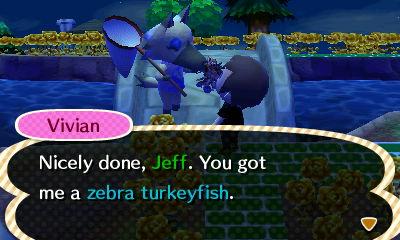 Vivian: Nicely done, jeff. You got me a zebra turkeyfish.
