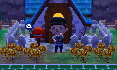 My Booker character and his full mailbox.