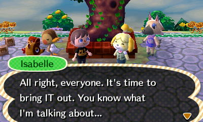 Isabelle: All right, everyone. It's time to bring IT out. You know what I'm talking about...