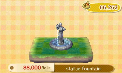 The statue fountain PWP: 88,000 bells.