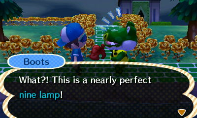Boots: What?! This is a nearly perfect nine lamp!