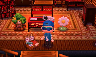 The picnic basket from Labor Day in Animal Crossing: New Leaf.