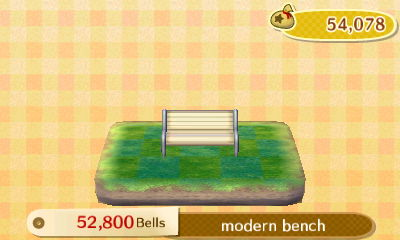 Modern bench PWP: 52,800 bells.