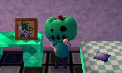 Boots' pic in Animal Crossing: New Leaf for Nintendo 3DS.