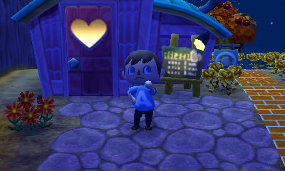Jeff, wearing an A shirt, in Animal Crossing: New Leaf.