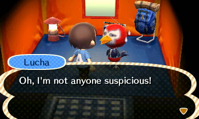 Lucha: I'm not anyong suspicious!