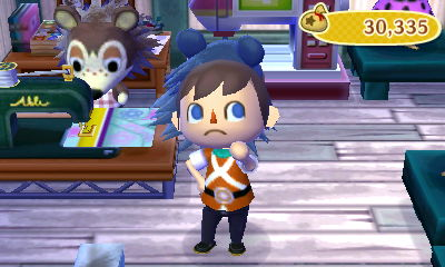 Jeff wears the guard's uniform in Able Sisters.