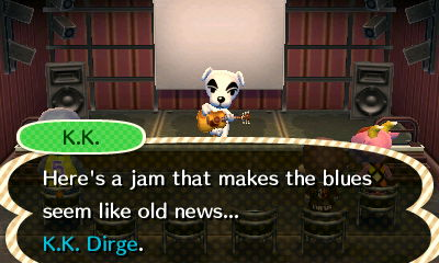 K.K.: Here's a jam that makes the blues seem like old news... K.K. Dirge.
