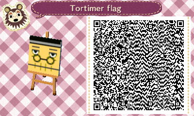 QR code for a Tortimer flag.