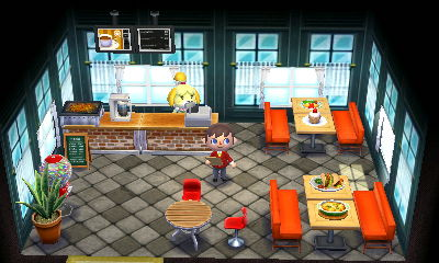 Animal Crossing Happy Home Designer Kitchen Counter