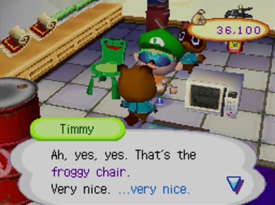 Froggy Chair Jeff S Acww Blog