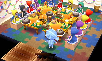 Animal Crossing New Leaf Police Station Cake