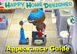 Animal Crossing Happy Home Designer Appearance Guide