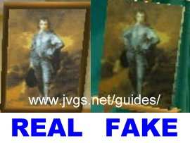 Famous Painting Acnl Real Fake