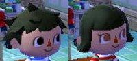 Amazing Animal Crossing New Leaf Hair Guide English Short Hairstyles Gunalazisus