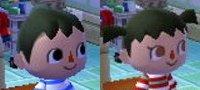 Animal Crossing New Leaf Hair Guide English