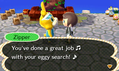 Zipper: You've done a great job with your eggy search.