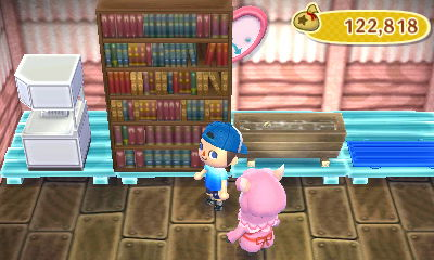 A Very Large Bookshelf On Sale In Re Tail