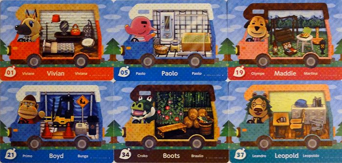My First Pack Of Welcome Amiibo Cards Jeff S New Leaf Blog