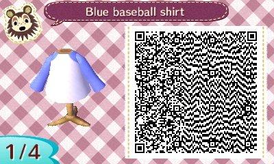 Animal Crossing New Leaf Qr Codes Shirts