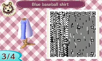 Animal Crossing New Leaf Qr Codes Shirts
