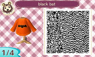 Animal Crossing New Leaf Qr Codes Halloween