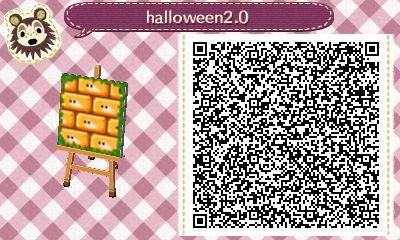 Animal Crossing New Leaf QR Codes - Halloween