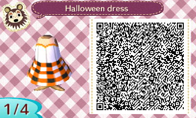 Animal Crossing New Leaf Qr Codes Halloween