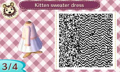 Animal Crossing New Leaf Qr Codes Dresses