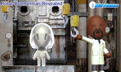 Robo-Bomberman Revealed.