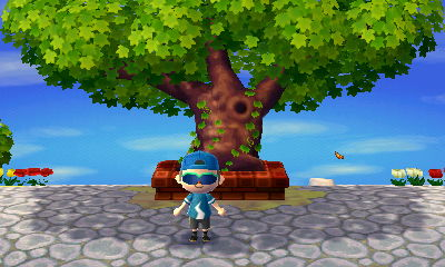 ACNL full-sized town tree